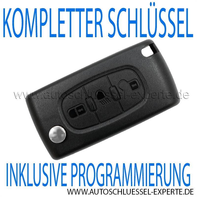 Citroen KFZ Schlüssel